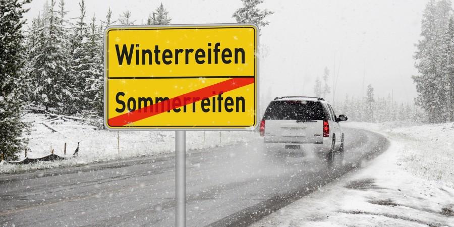 Sommerreifen im Winter und die Haftpflicht-Versicherung